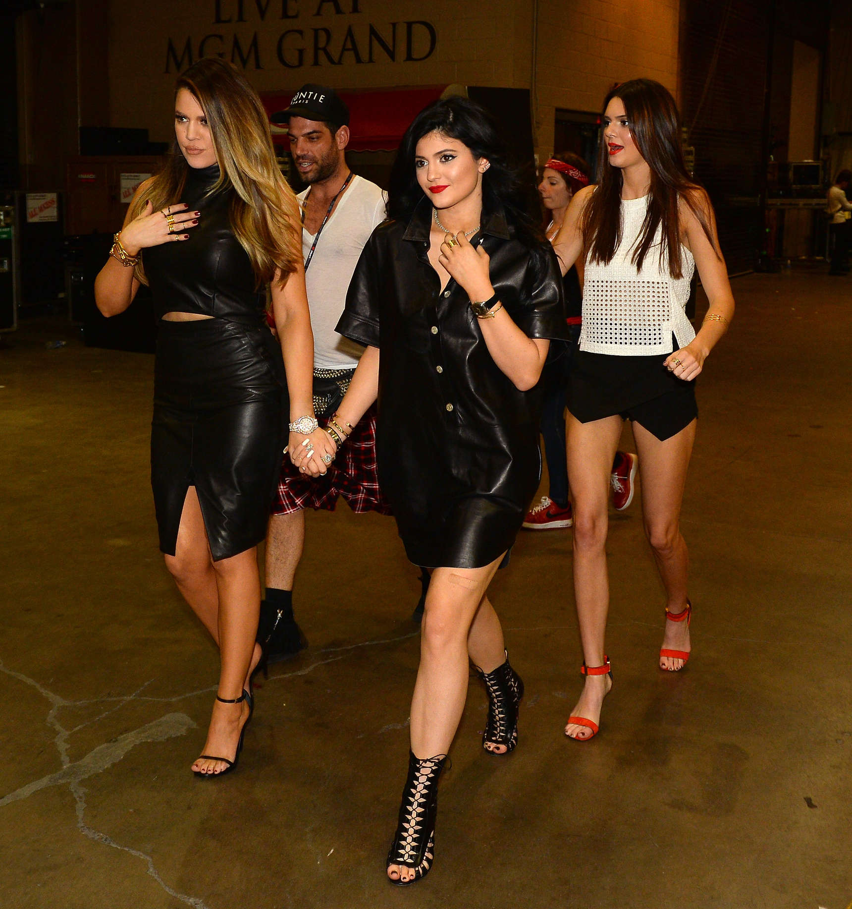 Kendall And Kylie Jenner At The IHeartRadio 2013-26