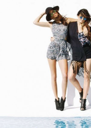 Kendall and Kylie Jenner: New PacSun 2014 Campaign -03