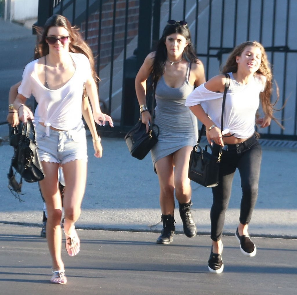 kendall and kylie jenner out in west hollywood 15 gotceleb