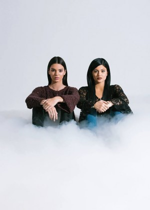 Kendall and Kylie Jenner - PacSun Holiday Collection 2014