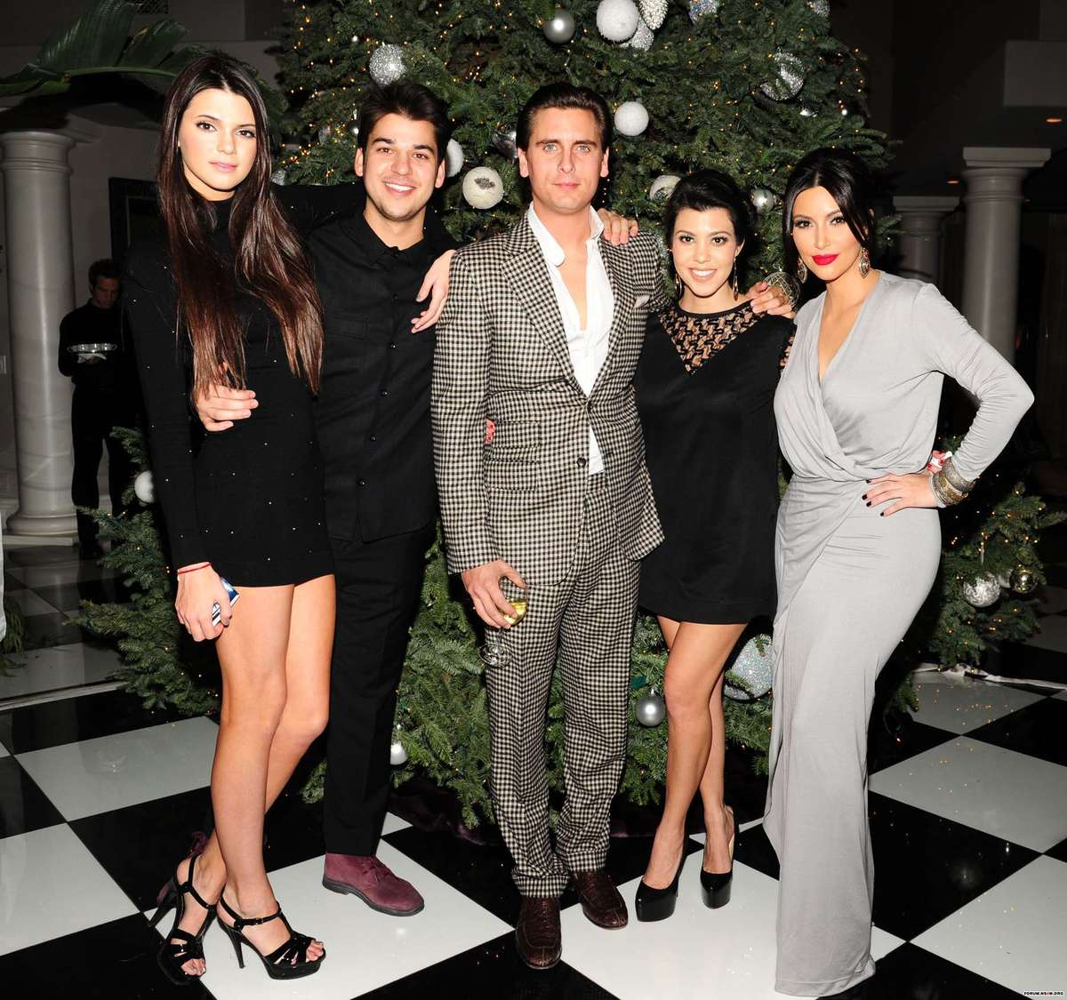 Kendall Jenner - 2011 The Kardashian\'s Annual Christmas Eve Party ...