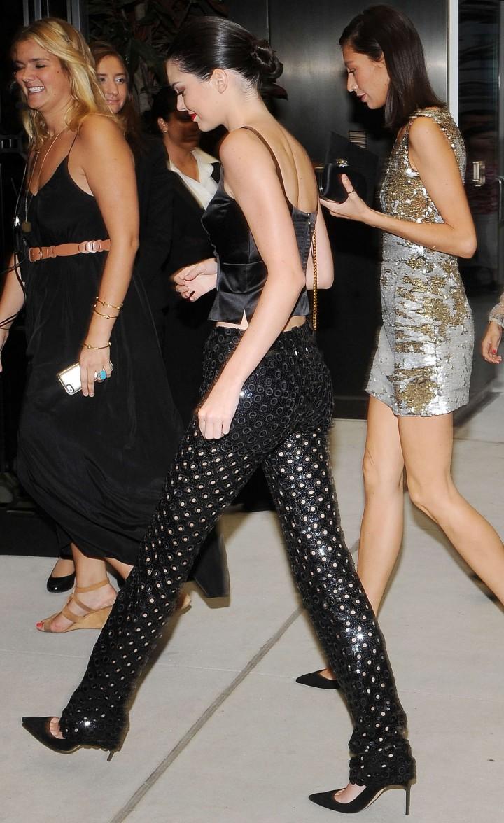 Kendall Jenner: 2014 Fashion Media Awards -01