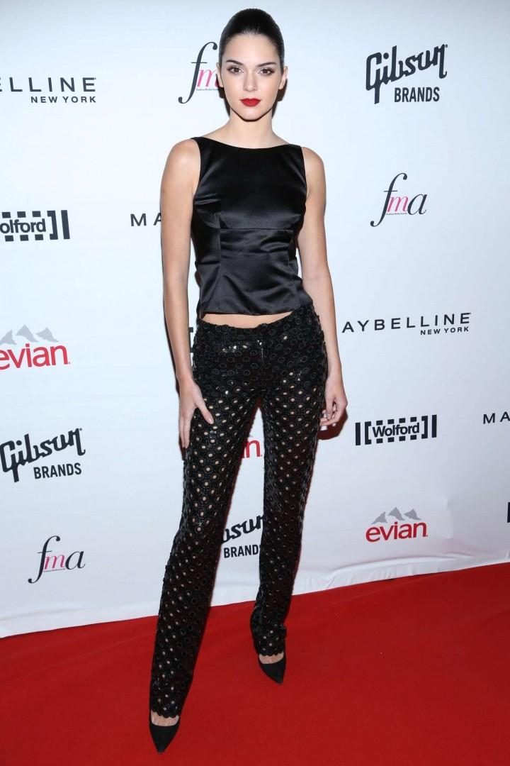 Kendall Jenner: 2014 Fashion Media Awards -32