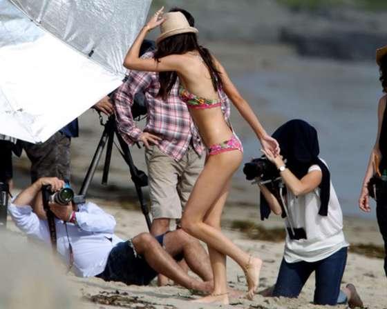 Kendall Jenner 2013 : Kendall Jenner at a Bikini Photoshoot-12