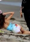 Kendall Jenner at a Bikini Photoshoot-50