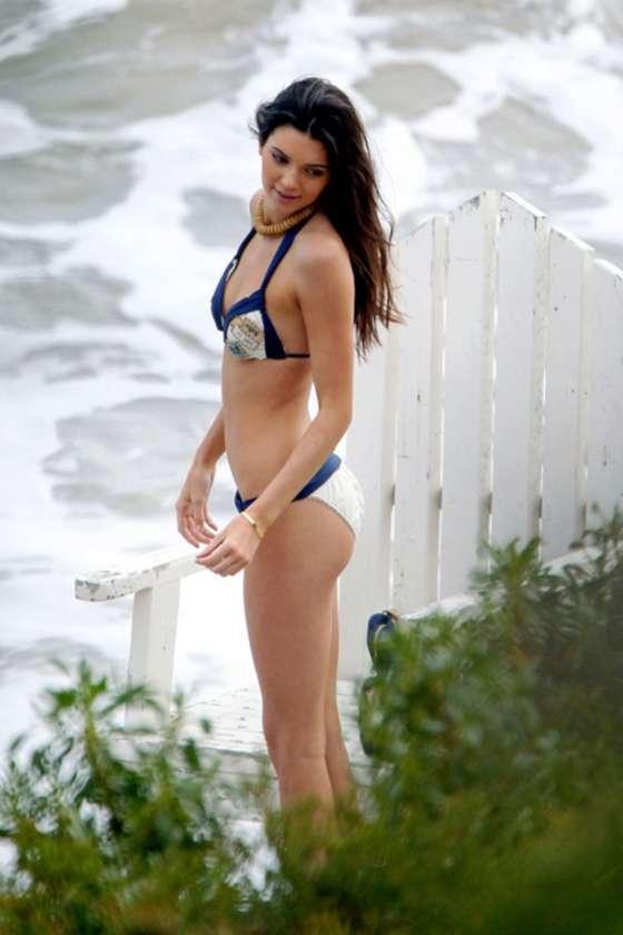 Kendall Jenner 2013 : Kendall Jenner at a Bikini Photoshoot-56