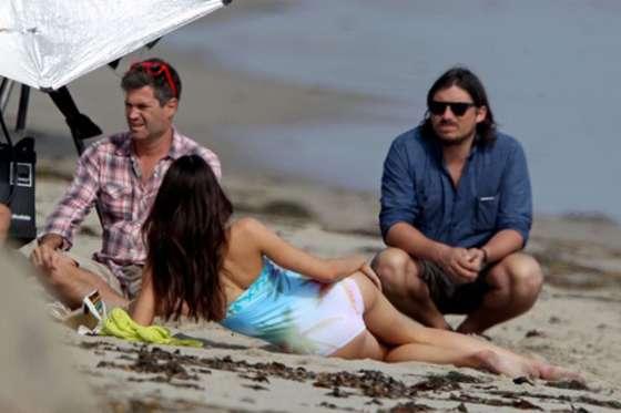 Kendall Jenner 2013 : Kendall Jenner at a Bikini Photoshoot-64
