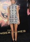 Kendall Jenner legs in short tight dress at The Hunger Games-05