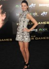 Kendall Jenner legs in short tight dress at The Hunger Games-10