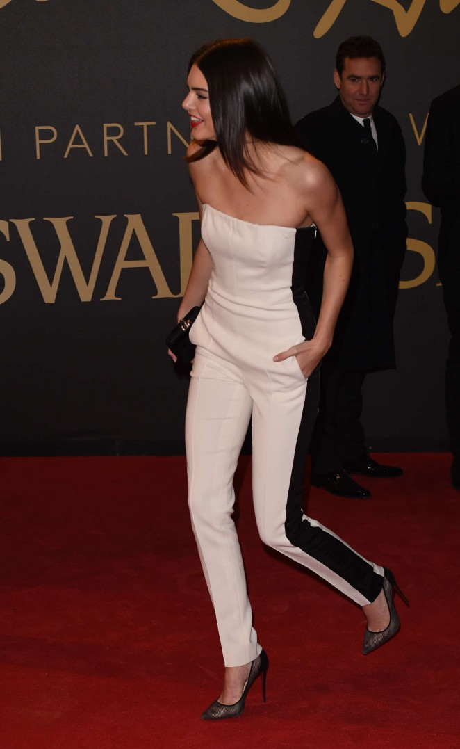 Kendall Jenner: 2018 The British Fashion Awards in London