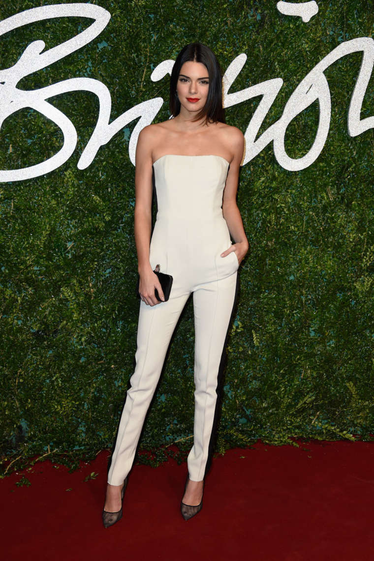 Kendall Jenner 2014 British Fashion Awards In London