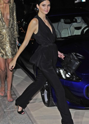 Kendall Jenner - CR Fashion Book Issue N°5 Launch Party in Paris
