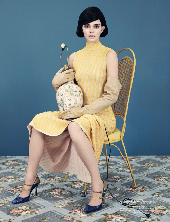 Kendall Jenner - Dazed Magazine (Winter 2014) issue