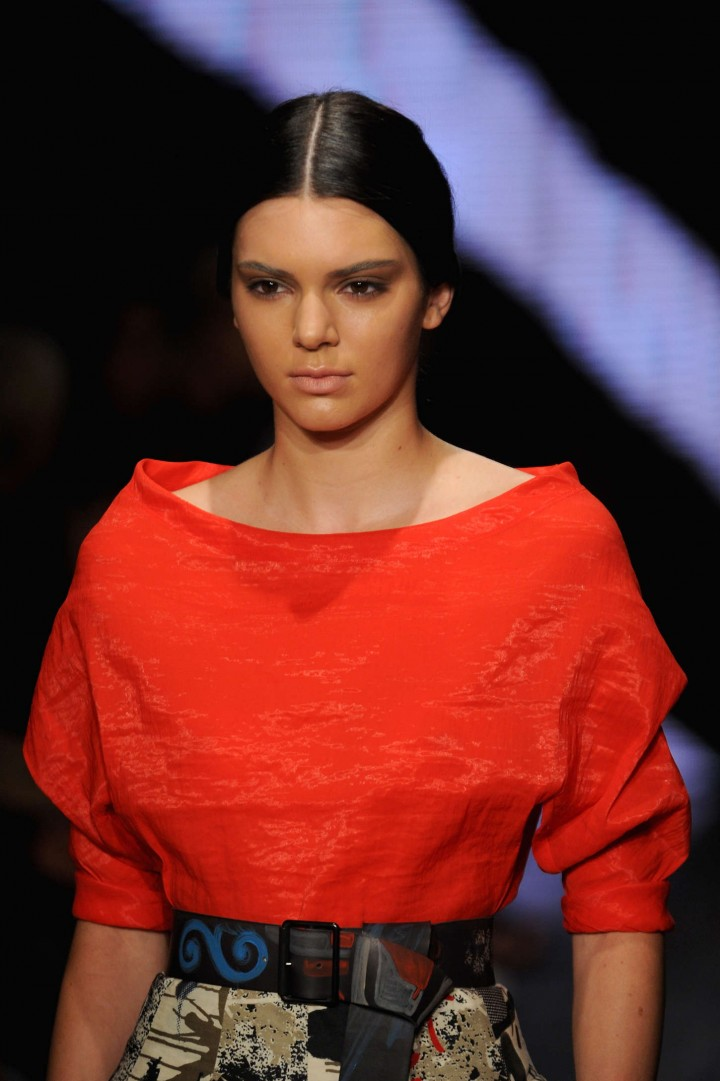 Kendall Jenner - Donna Karan 30th Anniversary Fashion Show in NYC