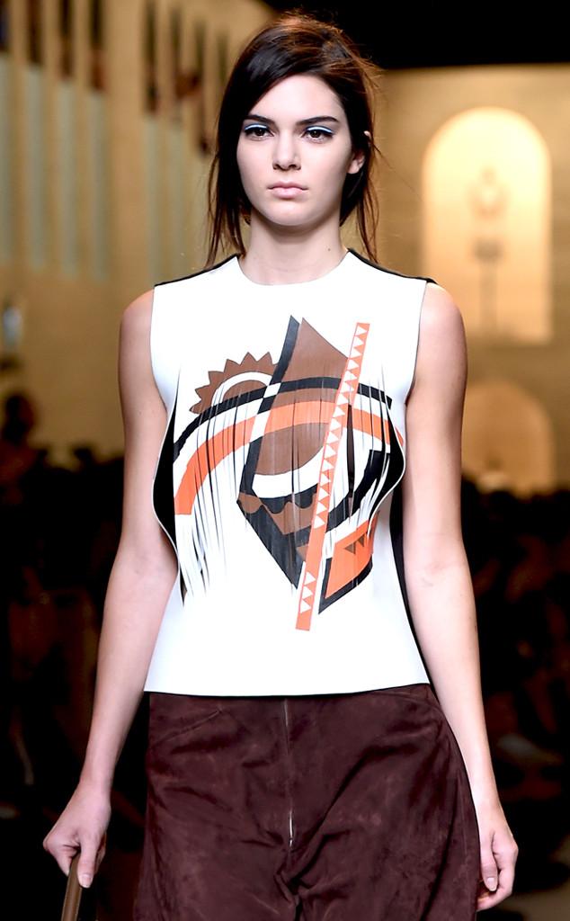 Kendall Jenner - Fendi Fashion Show in Milan