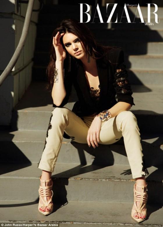 Kendall Jenner - Harpers Bazaar Arabia - April 2013 -03