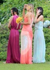 Kendall Jenner Photos in dress at Wedding-05