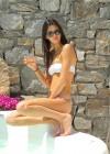 Kendall Jenner in a Bikini in Mykonos - Greece -01