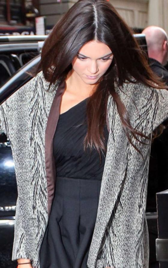 Kendall Jenner Leggy -01