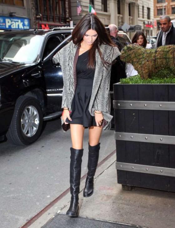 Kendall Jenner Leggy -04