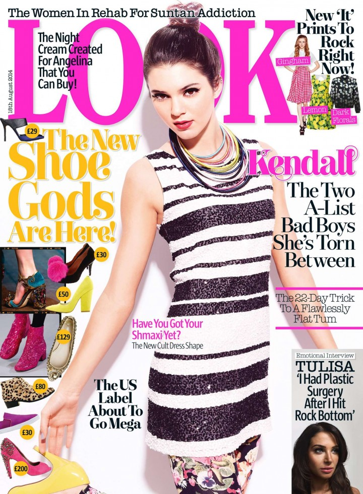 Kendall Jenner - Look Magazine (UK August 2014)