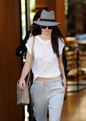 Kendall Jenner Street Style - out in Paris