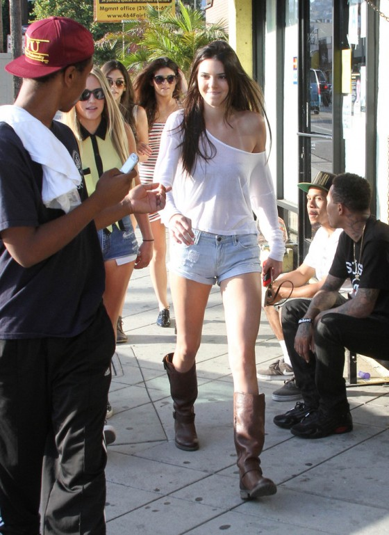 Kendall Jenner 2012 : Kendall Jenner – Out with Friends in Hollywood-04