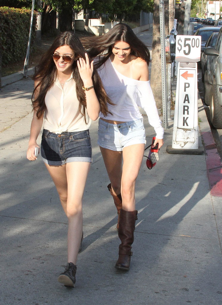 Kendall Jenner 2012 : Kendall Jenner – Out with Friends in Hollywood-14