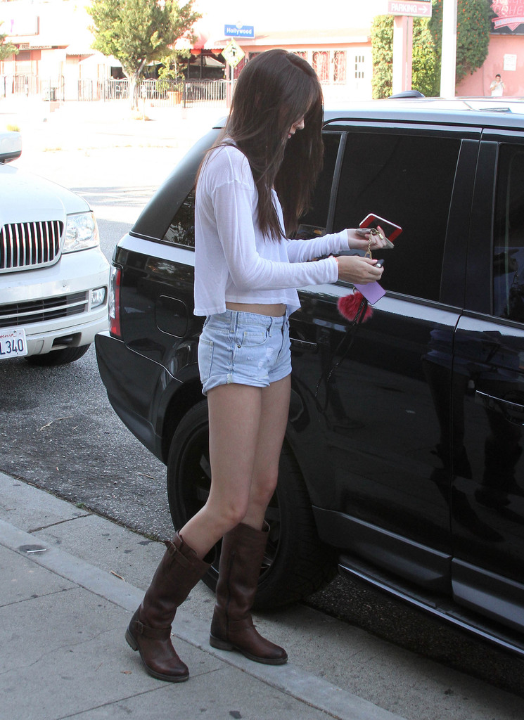 Kendall Jenner 2012 : Kendall Jenner – Out with Friends in Hollywood-24