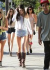 Kendall Jenner - Out with Friends in Hollywood-25