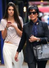 Kendall Jenner - With Her Mom in NYC-06