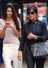Kendall Jenner - With Her Mom in NYC-09