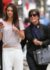 Kendall Jenner - With Her Mom in NYC-10