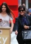 Kendall Jenner - With Her Mom in NYC-11