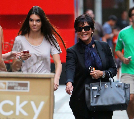 Kendall Jenner – With Her Mom in NYC-11