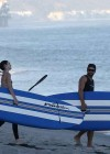 Kendall Jenner - paddleboarding in Hawaii -06