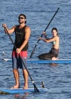 Kendall Jenner - paddleboarding in Hawaii -07