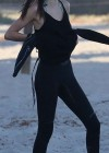 Kendall Jenner - paddleboarding in Hawaii -09