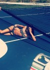 Kendall Jenner relaxing after a match of bikini tennis-03