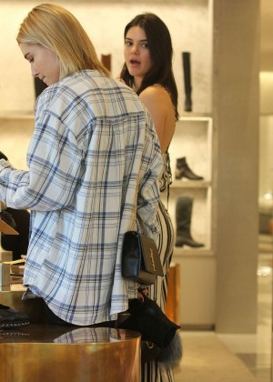 Kendall Jenner: Shopping at Barneys NY -06