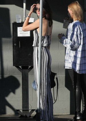 Kendall Jenner: Shopping at Barneys NY -14