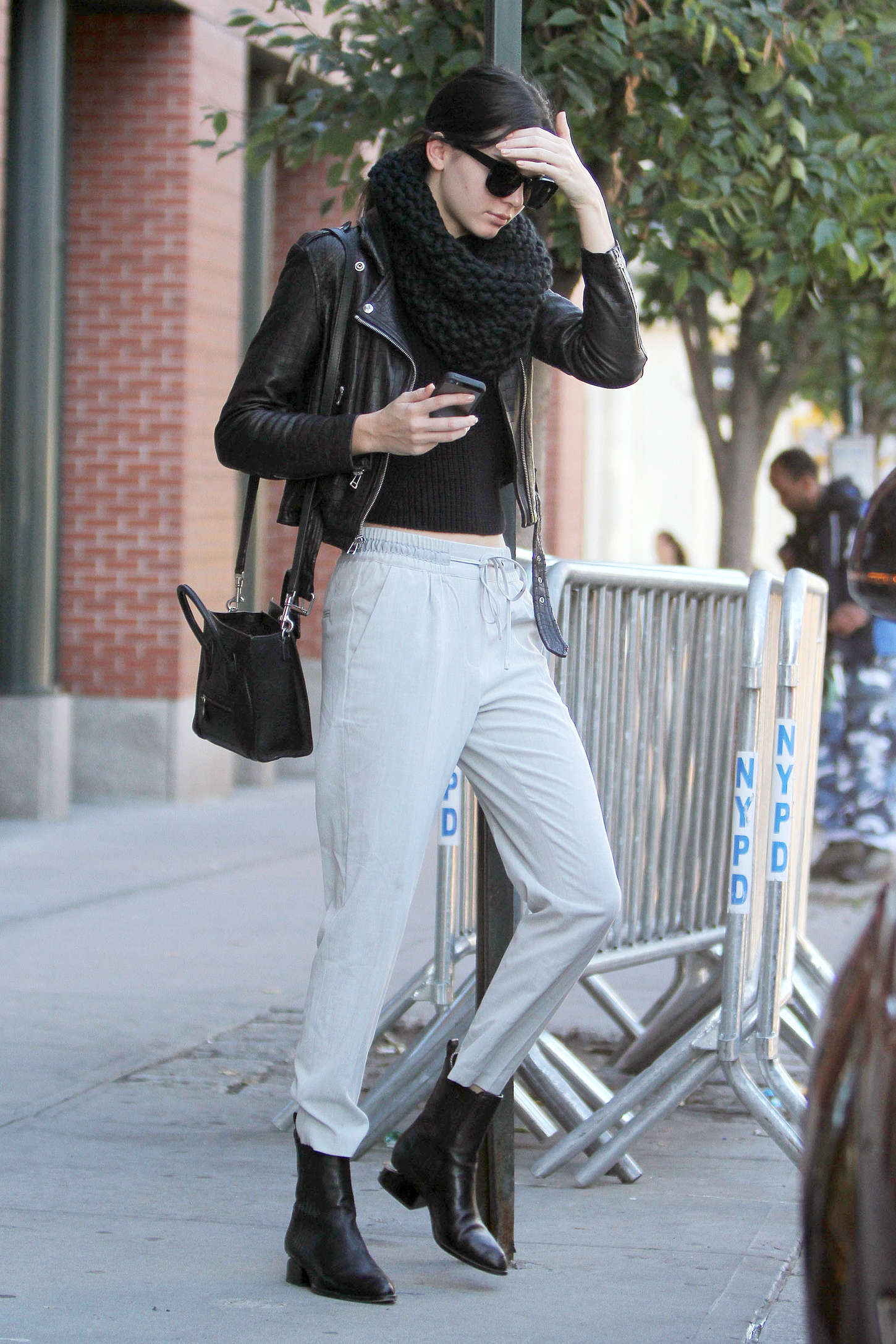 Kendall Jenner Street Style In Ny 01 Gotceleb