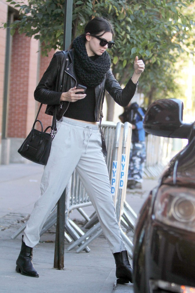 Kendall Jenner Street Style In Ny 07 Gotceleb