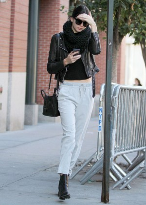 Kendall Jenner Street Style - out in NYC