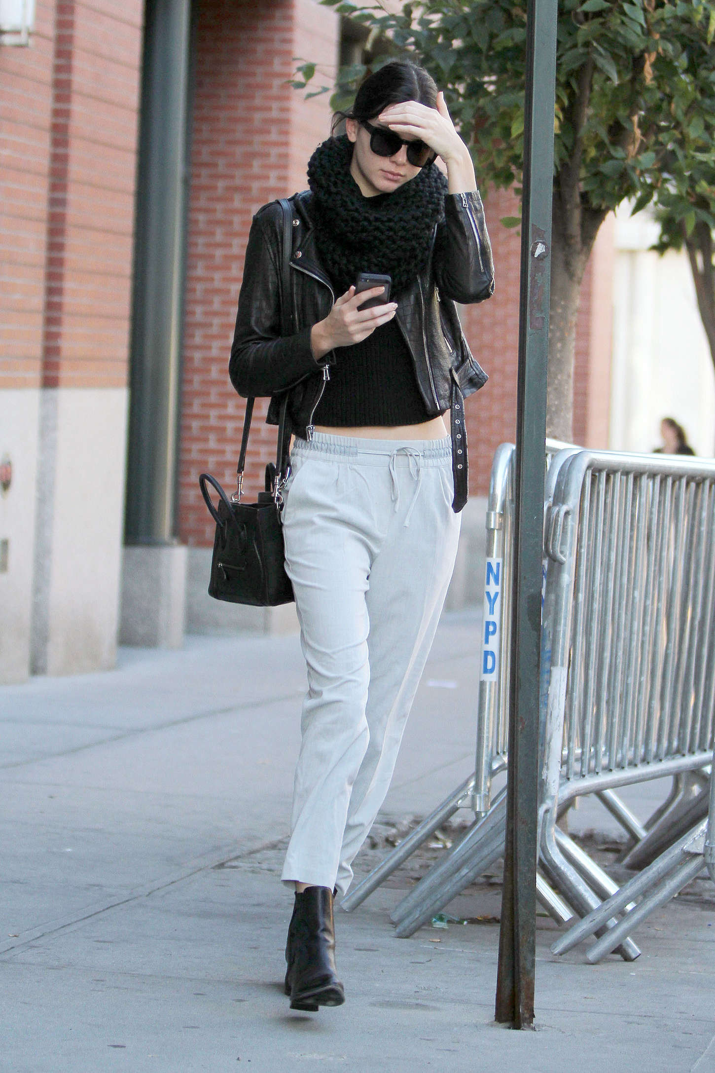 Kendall Jenner Street Style Out In Nyc Gotceleb