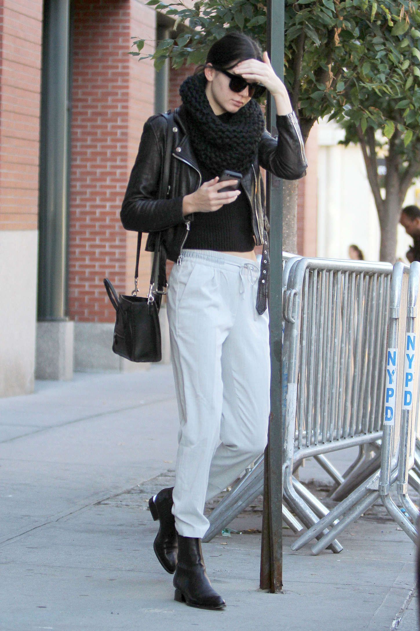 Kendall Jenner Street Style In Ny 10 Gotceleb