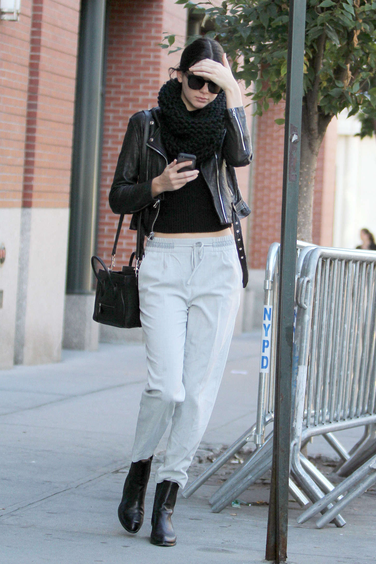 Kendall Jenner Street Style In Ny 15 Gotceleb