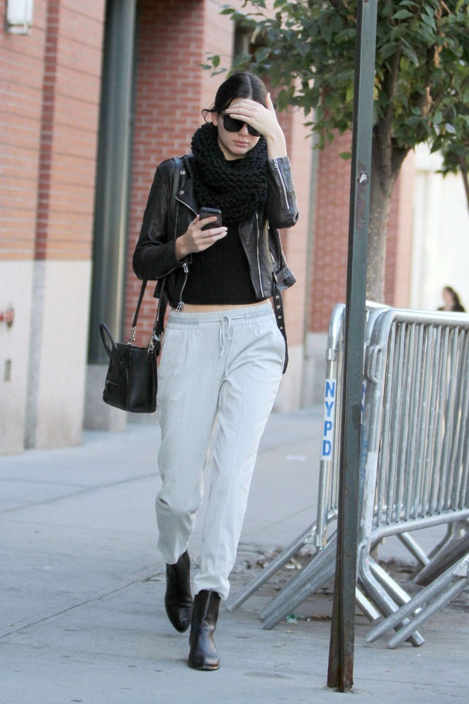 Kendall Jenner Street Style In Ny 20 Gotceleb
