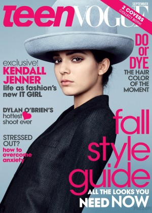 Kendall Jenner - Teen Vogue Magazine (September 2014)