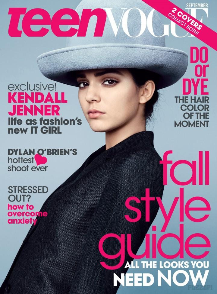Kendall Jenner - Teen Vogue Magazine (September 2014)